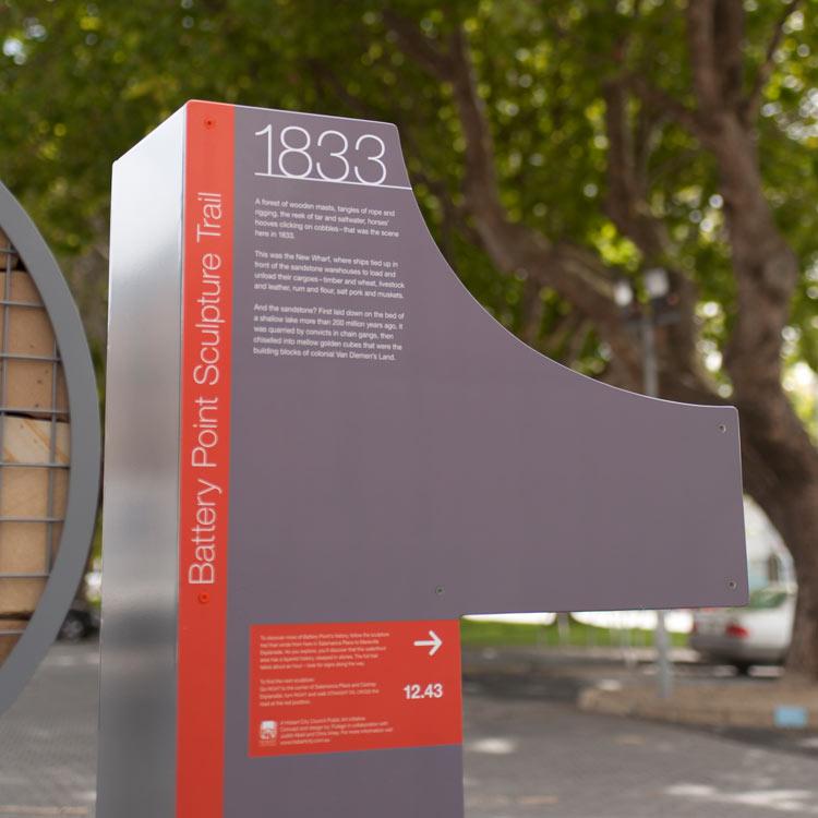 Battery Point Sculpture Trail Futago