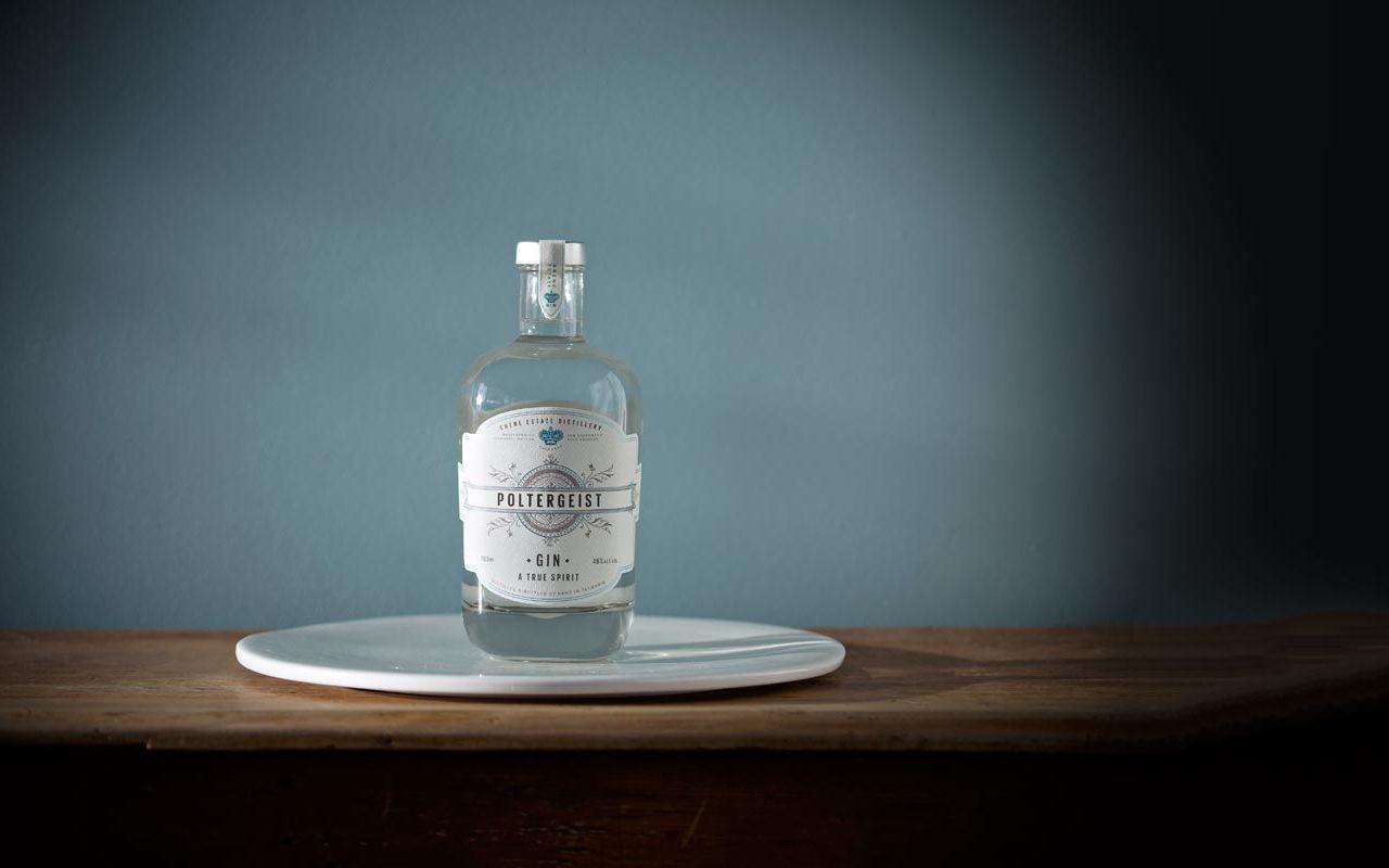 Poltergeist Gin Label