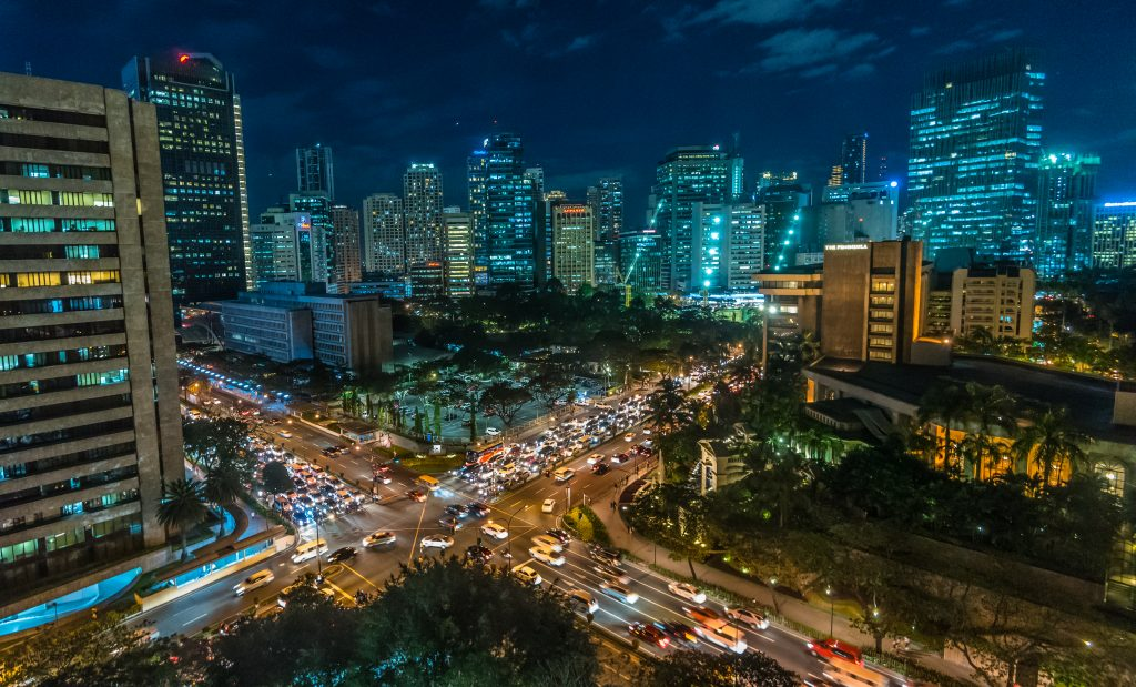 Manila at night, by al smith cc