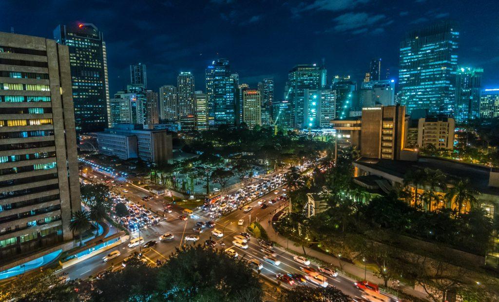 Manila at night, by al smith cc